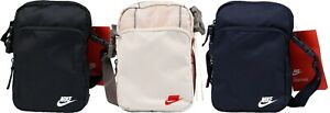 Nike Heritage Smit2.0 Unisex Men Women Mini Organiser Shoulder Bag Black BA5859