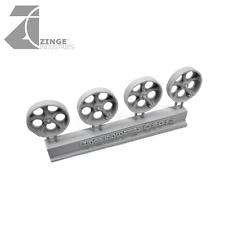 "Zinge Industries Wheels 25mm ""Metal"" Artillery Wheel X4 New Vehicle Bits S-WHE13"