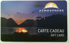ATMOSPHERE STORE GIFT CARD RECHARGEABLE CAMPING BY THE RIVER !
