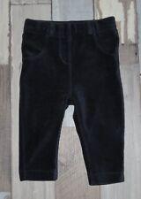 ~ Pantalon en velours noir KIABI fille 9 mois ~