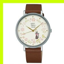 ALBA Wrist Watch ACCK418 Cream Brown Kiki's Delivery Service Ghibli
