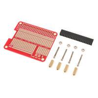 DIY Proto HAT Shield Raspberry Pi 2 HAT Board for Raspberry Pi 2 B+/A+ Red