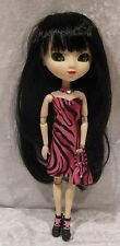 "Made to fit 12½"" PULLIP #27 Dress, Necklace & Purse Set,  Handmade doll clothes"