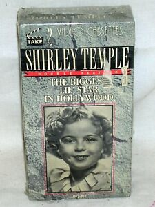 2 Volume VHS Set. SHIRLEY TEMPLE The Biggest Lil Star in Hollywood  SEALED