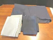West Point Stevens Flat sheet New Navy blue Full/Double Flat+6 cases