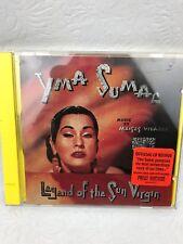 YMA SUMAC  LEGEND OF THE SUN VIRGIN 1996 OFFICIAL REISSUE CD