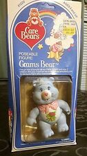 GRAMS Care Bears 1984 15/back kenner American Greeting Co MIB UNPUNCHED