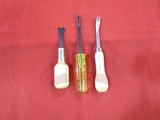 Qty 3 Tools C.S.Osborne Upholstery #120,#124 #200 Alberoni Sewing Machine