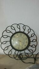 VINTAGE UNITED ELECTRIC WALL CLOCK