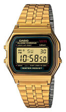Unisex Mens Womens Watch Casio A159wgea-1 Vintage Steel Golden Classic A159wge