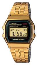 Unisex Mens Womens Watch Casio A159wgea-1 Vintage Steel Golden Classic A159wge