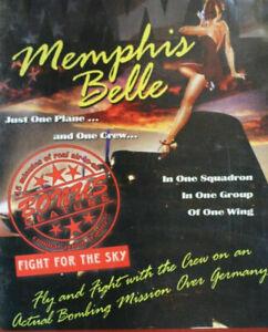 Memphis Belle DVD Documentary War - Real Footage - Rare Filmed in Colour AUS R4