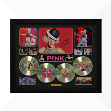 Pink P!NK Signed & Framed Memorabilia - 4 CD - Black - Limited Edition