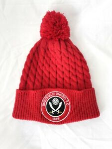 Sheffield United FC Knitted Bobble Hat