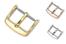 Stainless Steel New Watch Band Buckle Strap Clasp Gold/RoseGold/Silver 10-20 mm