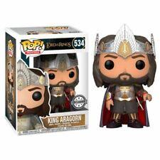 Funko Pop Exclusivité King Aragorn #534 LOTR Seigneur des Anneaux