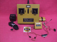 *VINTAGE RADIO* KRAFT Tx SPORT SERIES Rx 72.400Mhz BATTERY PACK, CHARGER, SWITCH