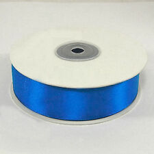 Royal Blue Quality Double Faced Satin Ribbon Full Rolls Various Sizes 25mm X 25 Metres