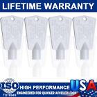 4Packs Freezer Door Keys 297147700 AP4301346 PS1991481 PS19914812 For Frigidaire photo