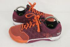 Reebok Womens CrossFit Nano 4.0 Flux Hazard Orange Training Shoes Size 8