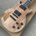 L&P Electric Guitar Tiger Flame Brown Burst Standard Electric Guitar Free Shippi for sale