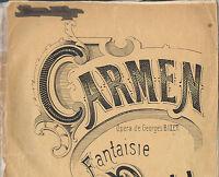 CARMEN Opéra en quatre actes de Georges BIZET Fantaisie de Georges BULL N°11