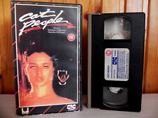 Cat People - Nastassia Kinski - CIC Release - Pre-Cert - Erotic Horror - Pal VHS