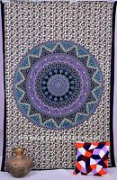 Star Mandala Tapestry Wall Hanging Throw Bohemian Decor Hippie Indian Bedspread