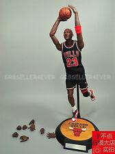 "custom 12"" 1/6 scale Michael Jordan 23 Black Jersey figure set New"