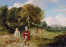 J.M.W. Turner and Walter Fawkes, 1820, J.M.W. TURNER, Romanticism Art Poster