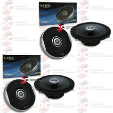 "4 x INFINITY PRIMUS 6.5"" 2-WAY CAR AUDIO COAXIAL SPEAKERS 280 WATTS MAX POWER"