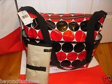 "NWT Kate Spade Daycation Serena Baby Diaper Bag Multi-use Tote""POLKA DOT""$278.00"