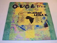 W/4/14 Schallplatte Vinyl Maxi Single Hello Africa Dr. Alban feat. Leila K. 1990
