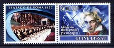 Guine Bi. 2008 MNH, Beethoven, Music, German Composer & Pianist  -L5