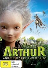 Arthur And The War Of The Two Worlds (DVD, 2011) -- Free Postage --