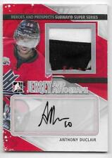 13/14 ITG HEROES & PROSPECTS SUBWAY AUTOGRAPH JERSEY Anthony Duclair /19 2CLR