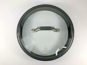 "Calphalon 9 1/4"" Glass & Silicone Strainer Lid"