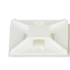 Panduit: ABM2S-A-C, ABM2S-A-D White Cable Tie Mount (100ea/bag)