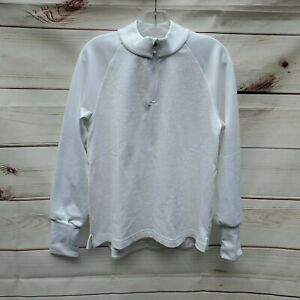 NWT Nike THERMA VICTORY WOMEN'S QUARTER ZIP PULL OVER CU0817-100 M