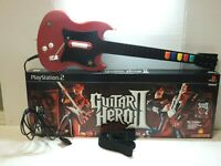 Guitar Hero 2 Red Octane PS2 PlayStation 2 Wired Controller With Box