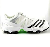 White Cricket shoes with Spikes Men's US 8, UK 7.5, EUR 41, 25.7 cm VGC