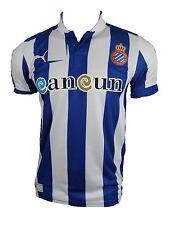 Puma Espanol Barcelona camiseta de equipo Soccer Heim fan Jersey blanco azul acb5072cebf