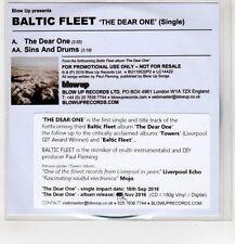 (HG15) Baltic Fleet, The Dear One - 2016 DJ CD