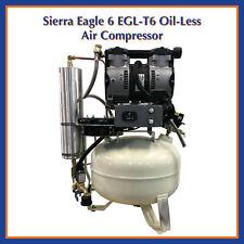 Sierra Dental Products Eagle Oil Less 1 4 User Air Compressor Egl T 6