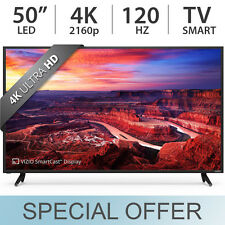 "VIZIO 50"" inch 4K UHD 2160p Smart LED SmartCast TV 120Hz w/ 4 HDMI E50-E3 - NEW"