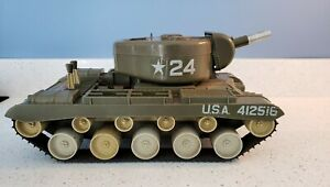 Vintage Antique Remco # 24 U.S. Army Bulldog Tank For Parts Only.
