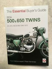 The Essential Buyer's Guide Ser.: BSA 500 and 650 Twins : A7, A10, A50 and A65 -