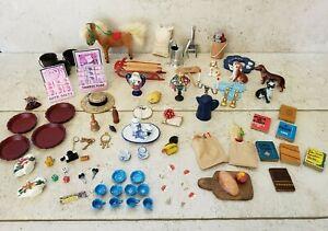 Vintage Random Miniature Dollhouse Lot