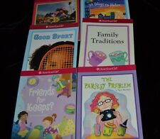 Lot 6 American Girl Mini Paperback Books GOOD SPORT FAMILY TRADITIONS FRIENDS