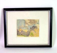 Josef MENG (1887-1974 Kufstein) - Buntstift Zeichnung Gebiet WILDER KAISER Tirol